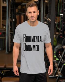 Dreams Rudimental Drummer Short-Sleeve Unisex T-Shirt - Silver