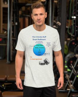 The 4 Stroke Ruff Short-Sleeve Unisex T-Shirt - Ash