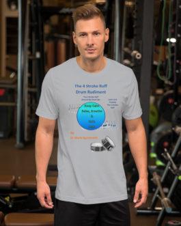 The 4 Stroke Ruff Short-Sleeve Unisex T-Shirt - Silver