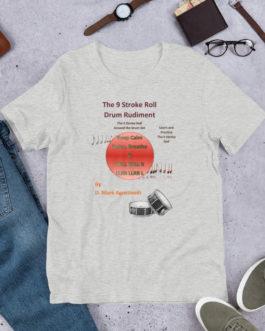 The 9 Stroke Roll Short-Sleeve Unisex T-Shirt - Athletic Heather