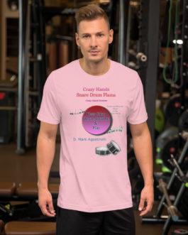 Crazy Hands - Flams Short-Sleeve Unisex T-Shirt - Pink