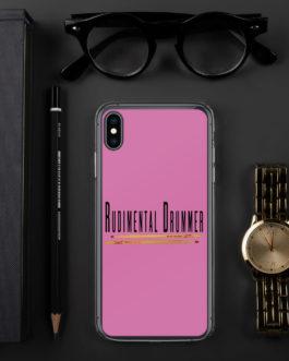 Rudimental Drummer iPhone Case (Pink) - iPhone XS Max
