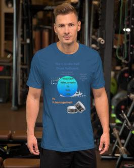 The 4 Stroke Ruff Short-Sleeve Unisex T-Shirt - Steel Blue