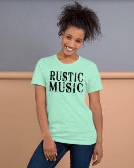 Famous Rustic Music Center Short-Sleeve Unisex T-Shirt - Heather Mint