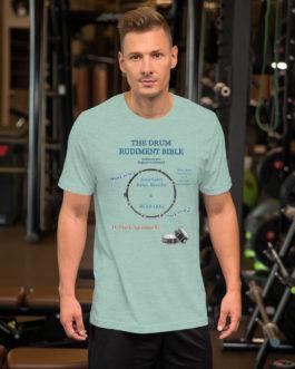 The Drum Rudiment Bible Short-Sleeve Unisex T-Shirt - 3XL