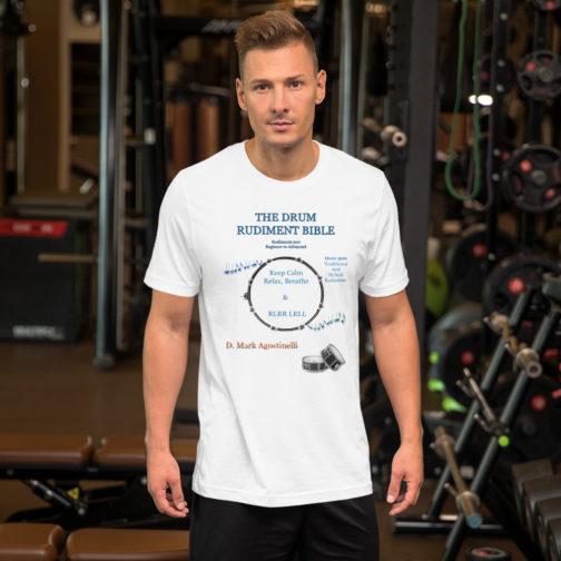 The Drum Rudiment Bible Short-Sleeve Unisex T-Shirt