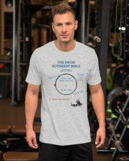 The Drum Rudiment Bible Short-Sleeve Unisex T-Shirt - S