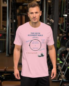 The Drum Rudiment Bible Short-Sleeve Unisex T-Shirt - M