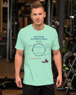 The Drum Rudiment Bible Short-Sleeve Unisex T-Shirt - 4XL