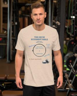 The Drum Rudiment Bible Short-Sleeve Unisex T-Shirt - XL