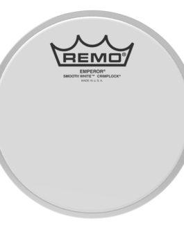 Remo – Batter, Crimplock, Emperor, Smooth White, 6 Diameter –  – 6″ (in)