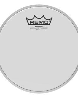 Remo – Batter, Crimplock, Emperor, Smooth White, 8 Diameter –  – 8″ (in)