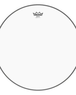 "Remo – Banjo Head, Clear, 10-12/16 Diameter, Low Collar –  – 10–12/16th"" (in)"