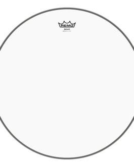 Remo – Banjo Head, Clear, 12 Diameter, High Collar –  – 12″ (in)