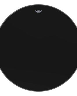 Remo – Ambassador Ebony Series Drumhead – Bass 34 inch. Diameter Model – 34″ (in)