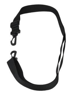 Remo – Strap, Shoulder, 1 X 54, Adjustable, Plastic Clip, No. 3 Ball Chain, Black Nylon –  –