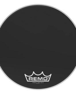Remo – Bass, Powermax 2, Ebony, 18 Diameter, Mp –  – 18″ (in)