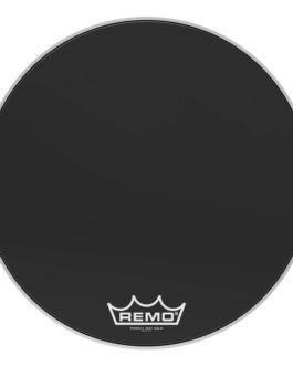Remo – Bass, Powermax 2, Ebony, 24 Diameter, Mp –  – 24″ (in)