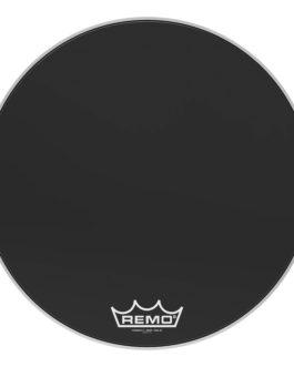 Remo – Bass, Powermax 2, Ebony, 26 Diameter, Mp –  – 26″ (in)