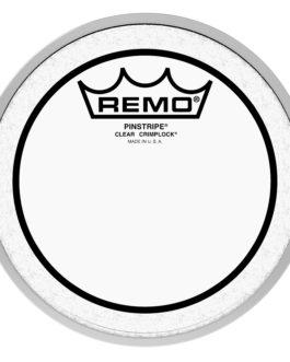 Remo – Batter, Crimplock, Pinstripe, Clear, 6 Diameter –  – 6″ (in)