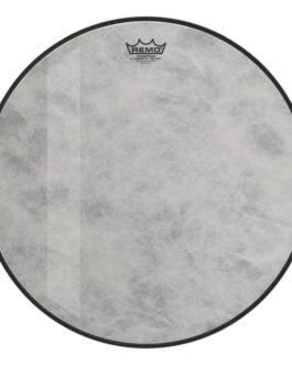 Remo – Bass, Powerstroke 3, Fiberskyn, Diplomat, Felt Tone, 20 Diameter –  – 20″ (in)