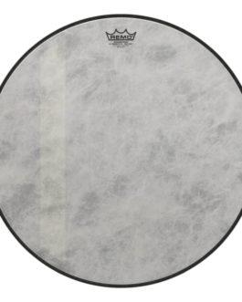 Remo – Bass, Powerstroke 3, Fiberskyn, Diplomat, Felt Tone, 22 Diameter –  – 22″ (in)