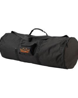 Remo – Versa, Duffel Bag Large 14 X 40, Vinyl Non-padded, Handle, Strap, Pouch, Black –  –